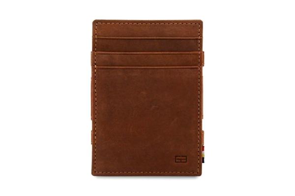 Essenziale Magig Wallet ohne Münzfach java braun