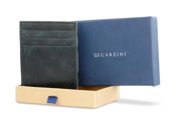 Essenziale Magic Wallet gebürstet Schwarz