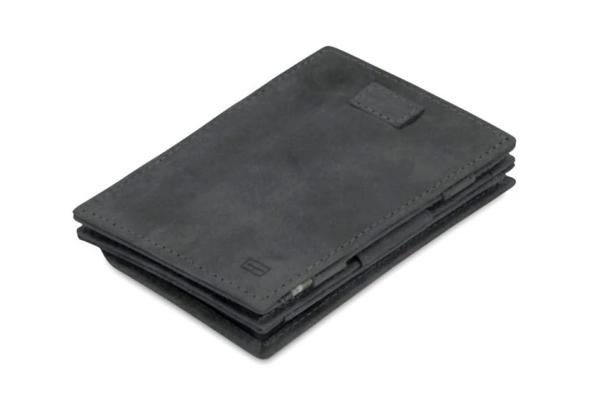Cavare Magic Wallet mit Münzfach carbon schwarz