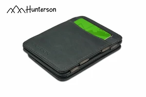 Hunterson Magic Coin Wallet Grau