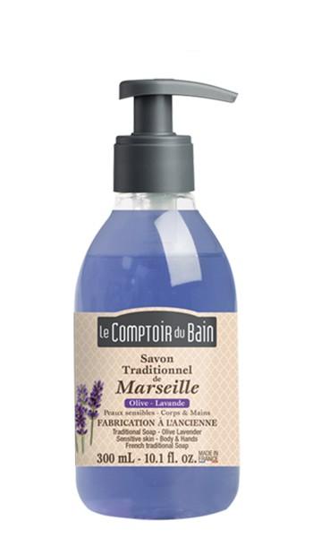 Marseille Seife Olive Lavendel