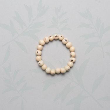 Armband Azaipi naturweiss