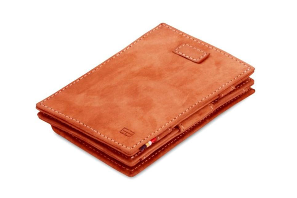 Cavare Magic Wallet mit Münzfach camel braun