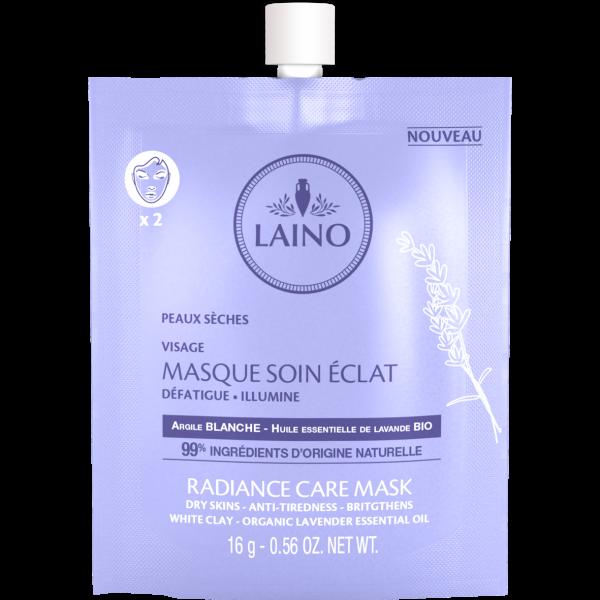 Laino weiße Tonerde-Maske Lavendelöl