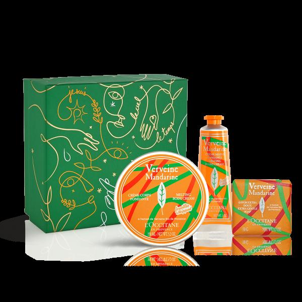 Geschenkset Verbene Mandarine von L Occitane