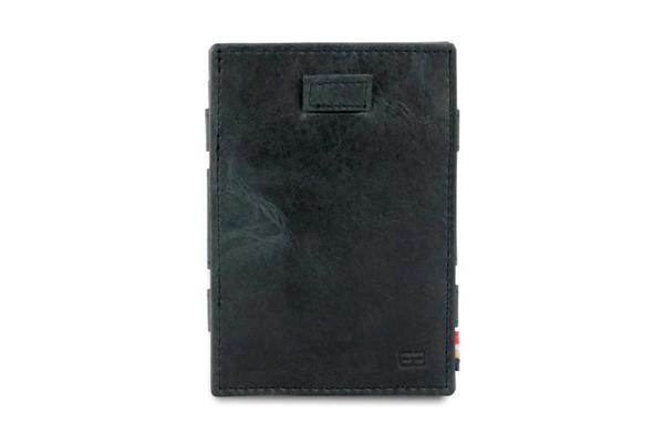 Cavare Walllet Card gebürstet schwarz
